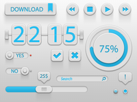Blue - White GUI