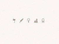 """Feather"" icon set."
