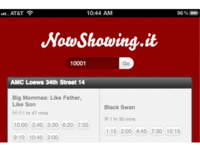 NowShowing.it iPhone App