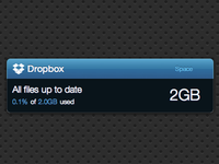 Dropbox Ego Widget