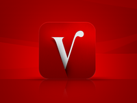 Veronica Magazine TV App Icon