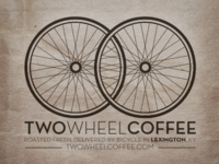 Two Wheel Coffee Bag Logo
