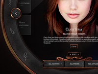 Mortal Instruments UI work
