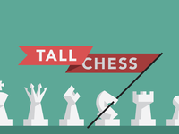 Tall Chess Banner