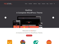 Redstar - Creative WordPress Theme