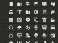 Symbolicons: PSD Shapes