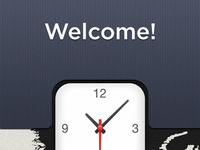 World Clock [3] — The Welcome.