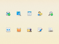 32px Icons with Old Fashion