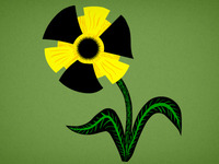 Radioactive flower 2.0
