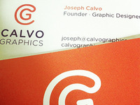 Calvo Graphics Business Card