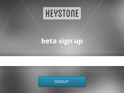 Keystone-beta-signup