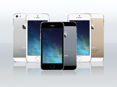 Download iPhone 5S Vector Adobe Illustrator format