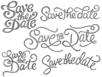 Save the Date sketches