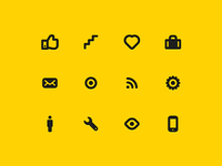 Getontop icon set