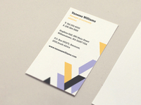 Vanessa business card
