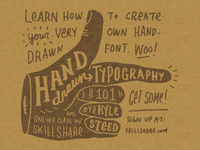 Hand-Drawn Typography 101