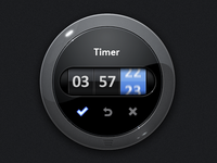 Timer With Motion Blur FX