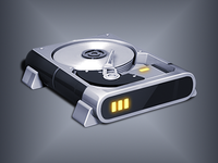 Hyperdesk Flagship Windows Icon | Hard Drive