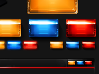 Star Trek Windows Theme window buttons - Close | Min | Max