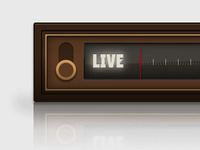 Old Radio created with only CSS3