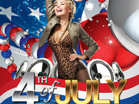 4th of July flyer and poster