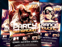 Party Sensation Flyer Template