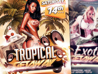 Tropical / Exotic Getaway Flyer