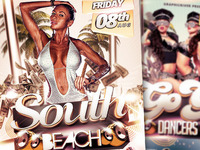 South Beach / GoGo Dancers Flyer