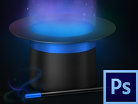 Magic Hat PSD