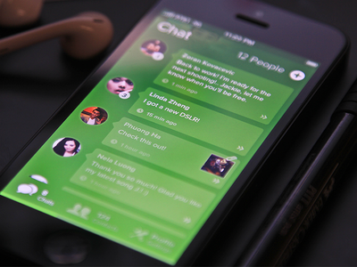 Chat UI - WhatsApp Redesign (?)