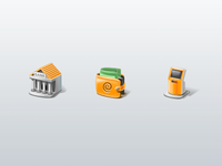 Deposit Funds icons