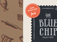 Blue Chip Packaging Mockup