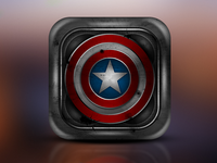Captain America - iOS app icon