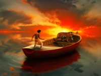 "Photo Manipulation : Me as ""Pi"" from ""Life of Pi"""