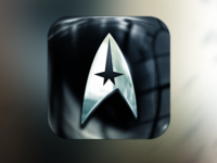 """Star Trek Into Darkness"" iOS icon"
