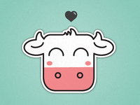 Happi_cow_dribbble_teaser