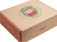 Happi Cakes Cake Box