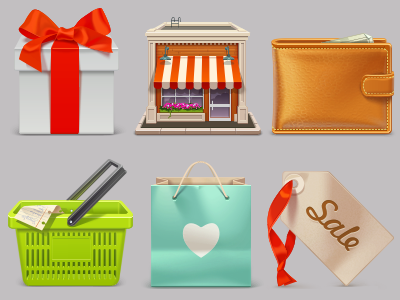 Download Free eCommerce Icon Set