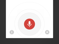 iOS Google Voice Search