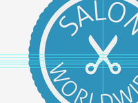 Salon Worldwide Logo Development