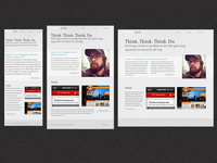 Personal Site Responsive Views