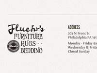 Fluehr's Furniture Footer