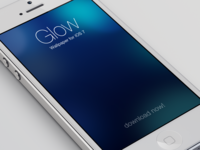 iOS 7 Wallpaper - Glow