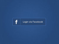 Login via Facebook