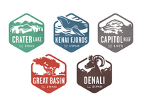 National Park Stamps, Part 2