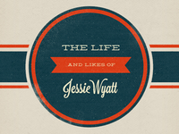 The Life and Likes of Jessie Wyatt