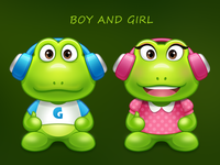 Guagua Boy and Girl