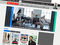 redesign for cinemag.gr