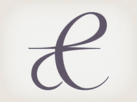 Thoughts on an Ampersand