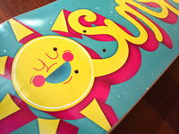 Sunshine Skateboard Printed 2
